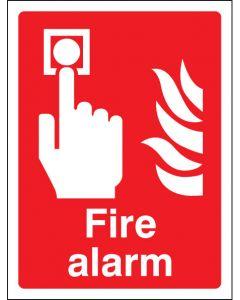 Fire alarm Photoluminescent 200x150