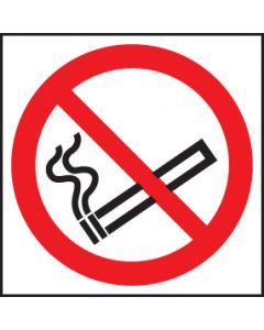 No smoking symbol Rigid Plastic 80x80