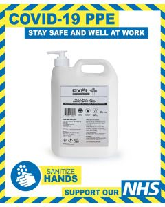 ALCOHOL HAND SANITISER GEL FAST ACTING 5L