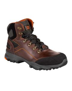 No Risk Voyager Brown Safety Boots