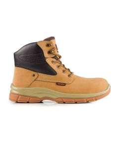 Scruffs Hatton Safety Boots Full grain nubuck leather mid-ankle safety boot