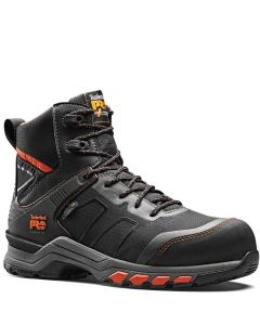 TIMBERLAND PRO HYPERCHARGE TEXTILE BOOT - BLACK/ORANGE