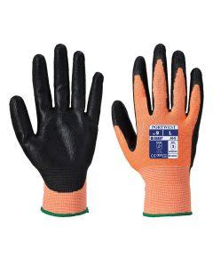 Amber Cut 3 Nitrile Foam Glove A643