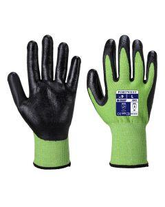 Green Cut 5 Nitrile Foam Glove A645