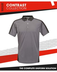 REGATTA CONTRAST WICKING POLO SHIRT