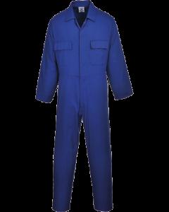 PORTWEST S999 POLYCOTTON ROYAL BLUE BOILERSUIT