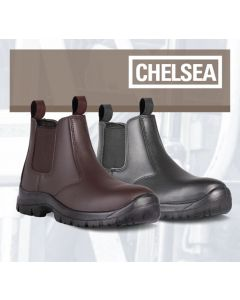 CHELSEA - SAFETY BOOT BROWN S1P