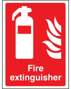 Fire extinguisher Photoluminescent 200x150