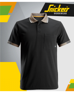 SNICKERS 2724 ALLROUND WORK BLACK POLO SHIRT