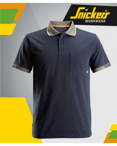 SNICKERS 2724 ALLROUND WORK NAVY POLO SHIRT