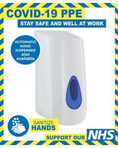 900ML HAND DISPENSER - WALL OR STAND MOUNT