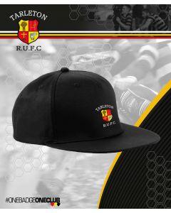 UNISEX TRUFC BLACK SNAP BACK CAP
