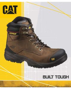CAT SPIRO S3 BROWN SAFETY BOOT