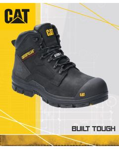 CAT BEARING BLACK SAFETY BOOT S3