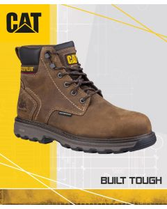 CAT PRECISION BROWN SAFETY BOOT