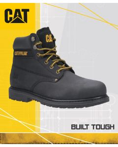 CAT POWERPLANT BLACK SAFETY BOOT