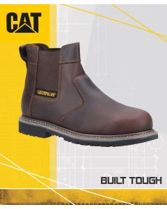 CAT POWERPLANT DEALER BROWN SAFETY BOOT