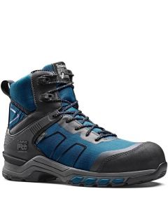TIMBERLAND PRO HYPERCHARGE TEXTILE BOOT - BLACK/TEAL