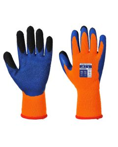 Hi Visibility Thermal Grip Gloves - A185