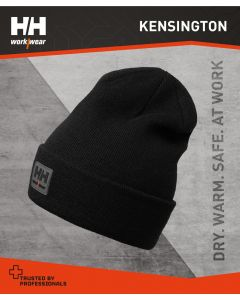 HELLY HANSEN KENSINGTON BEANIE HAT - BLACK