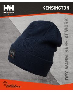 HELLY HANSEN KENSINGTON BEANIE HAT - NAVY