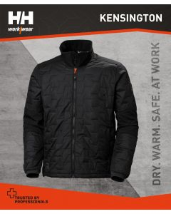 HELLY HANSEN KENSINGTON LIFALOFT JACKET - BLACK