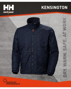 HELLY HANSEN KENSINGTON LIFALOFT JACKET - NAVY