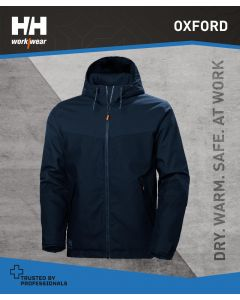 HELLY HANSEN OXFORD WINTER JACKET - NAVY