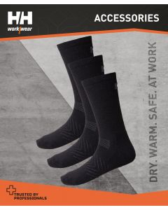 HELLY HANSEN MANCHESTER 3 PACK SOCKS - 39/42