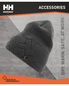 HELLY HANSEN THERMAL BEANIE HAT - GREY