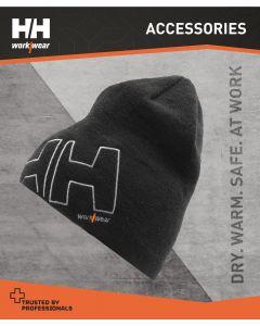 HELLY HANSEN THERMAL BEANIE HAT - BLACK