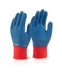Fully Coated Latex Gripper Glove (Red Cuff)