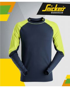 SNICKERS 2405 2-TONE NEON LONG SLEEVE T-SHIRT