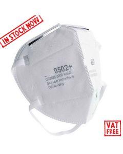 N95 Face Respirator Head & Neck Elastic FFP2 Equiv - 20 Masks per Box
