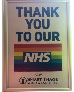 NHS Thank you Digitally Printed Sign - PROCEEDS DONATED TO THE NHS