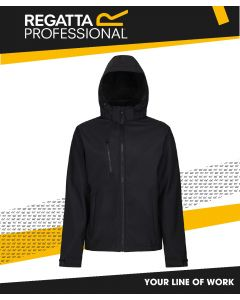 REGATTA VENTURER HOODED SOFTSHELL JACKET
