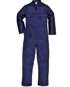 PORTWEST S999 POLYCOTTON NAVY BOILERSUIT