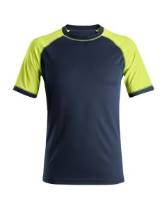 SNICKERS 2505 2-TONE NEON SHORT SLEEVE T-SHIRT
