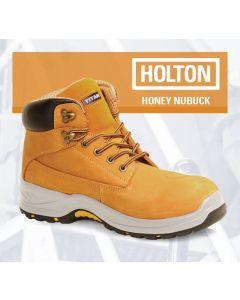 HOLTON - HONEY NUBUCK SAFETY BOOT S3