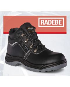 RADEBE - SAFETY BOOT BLACK SBP
