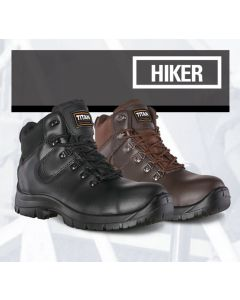 HIKER - SAFETY BOOT BROWN S1P