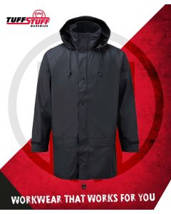 FLEX PU WATERPROOF JACKET - NAVY