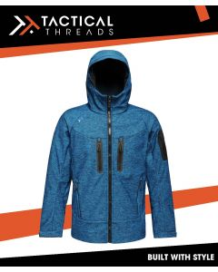 3 LAYER WATERPROOF SOFTSHELL JACKET - BLUE WING