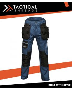 PREMIUM HOLSTER WORK TROUSERS - BLUE WING