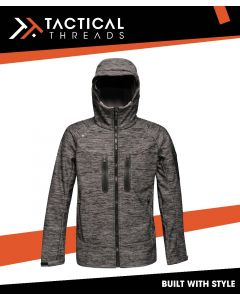 3 LAYER WATERPROOF SOFTSHELL JACKET - ROCK GREY